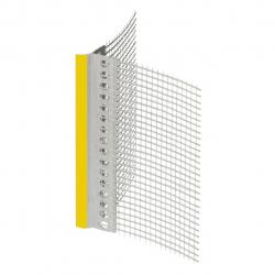 Профіль ПВХ з сіткою та капельником, 2,5м