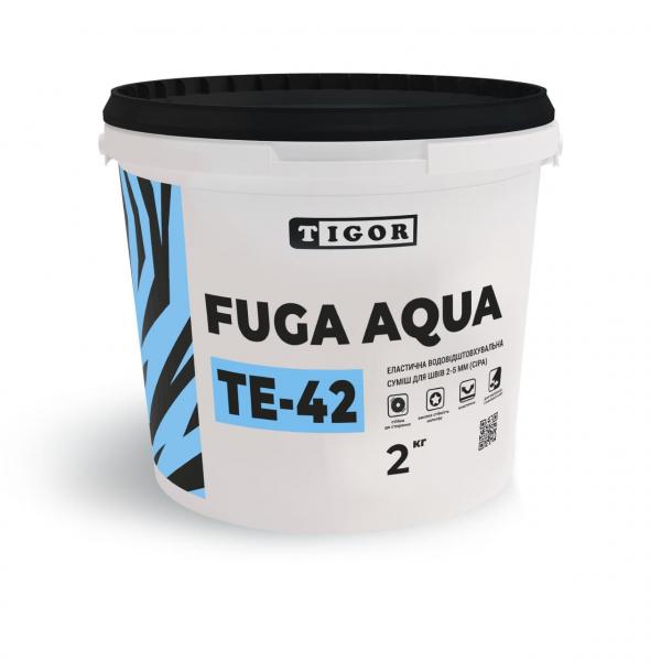 Затирка TЕ-42 FUGA AQUA (сіра), 2кг