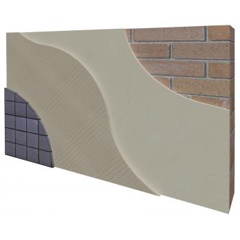 Система обробки фасаду під облицівання плиткою