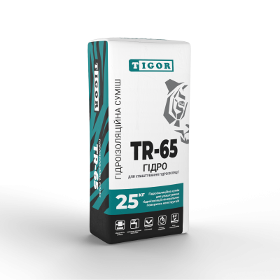 Суміш для гідроізоляції TR-65 ГІДРО