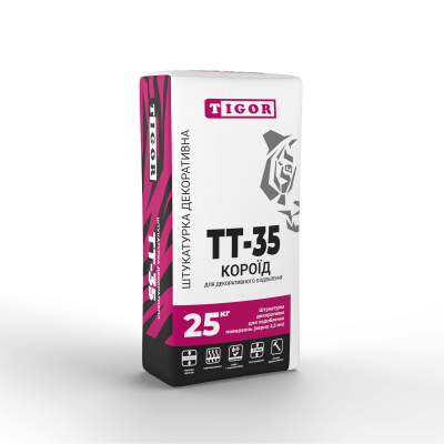 Штукатурка декоративна TT-35 КОРОЇД